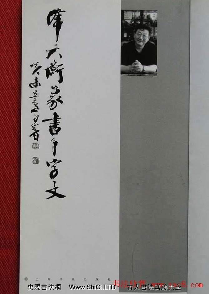 毛筆字帖《韓天衡篆書千字文》(共43張圖片)