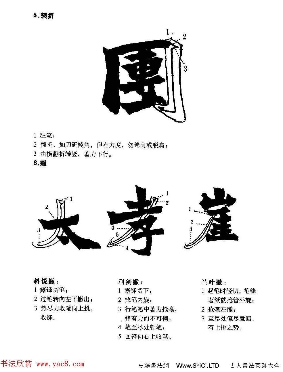 圖文教材_怎樣寫魏碑與怎樣臨習張猛龍碑