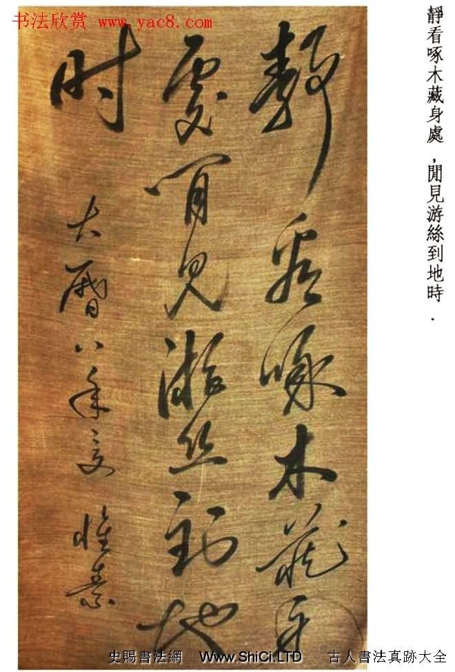 唐代醉僧懷素書法墨跡25帖(共25張圖片)