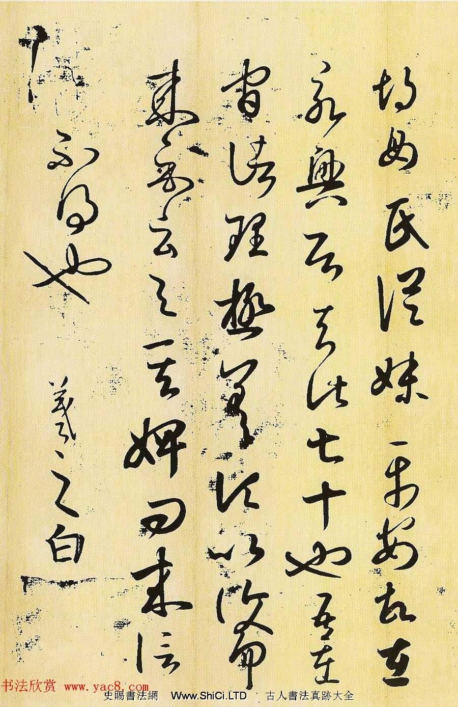 王羲之草書真跡欣賞《胡母帖》三種(共3張圖片)