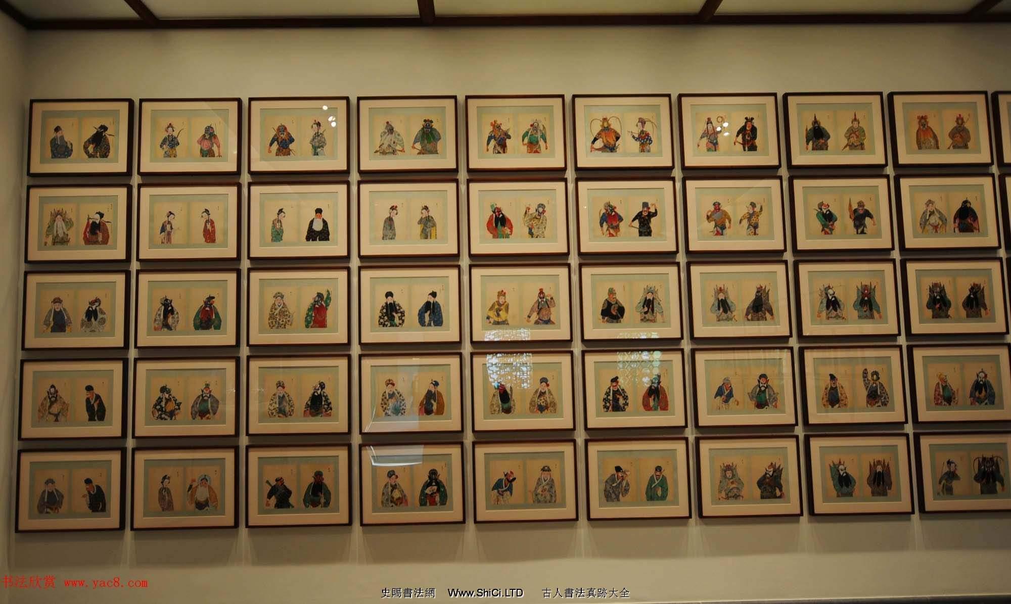 清代彩繪冊頁《戲曲人物百圖》美國大都會博物館藏(共100張圖片)