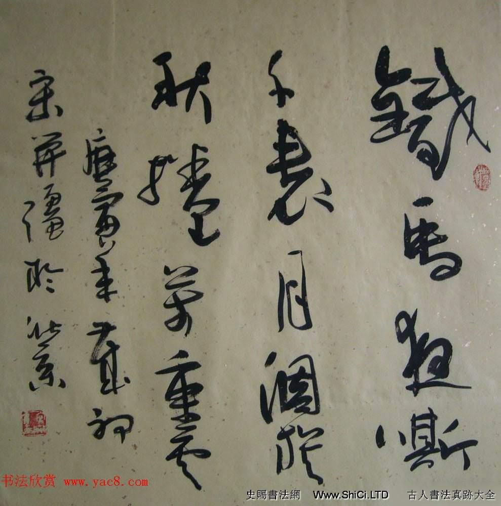 著名書畫家宋開強草書書法作品欣賞