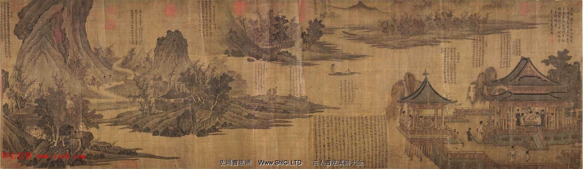 宋代張先82歲創作山水人物畫《十詠圖》(共6張圖片)