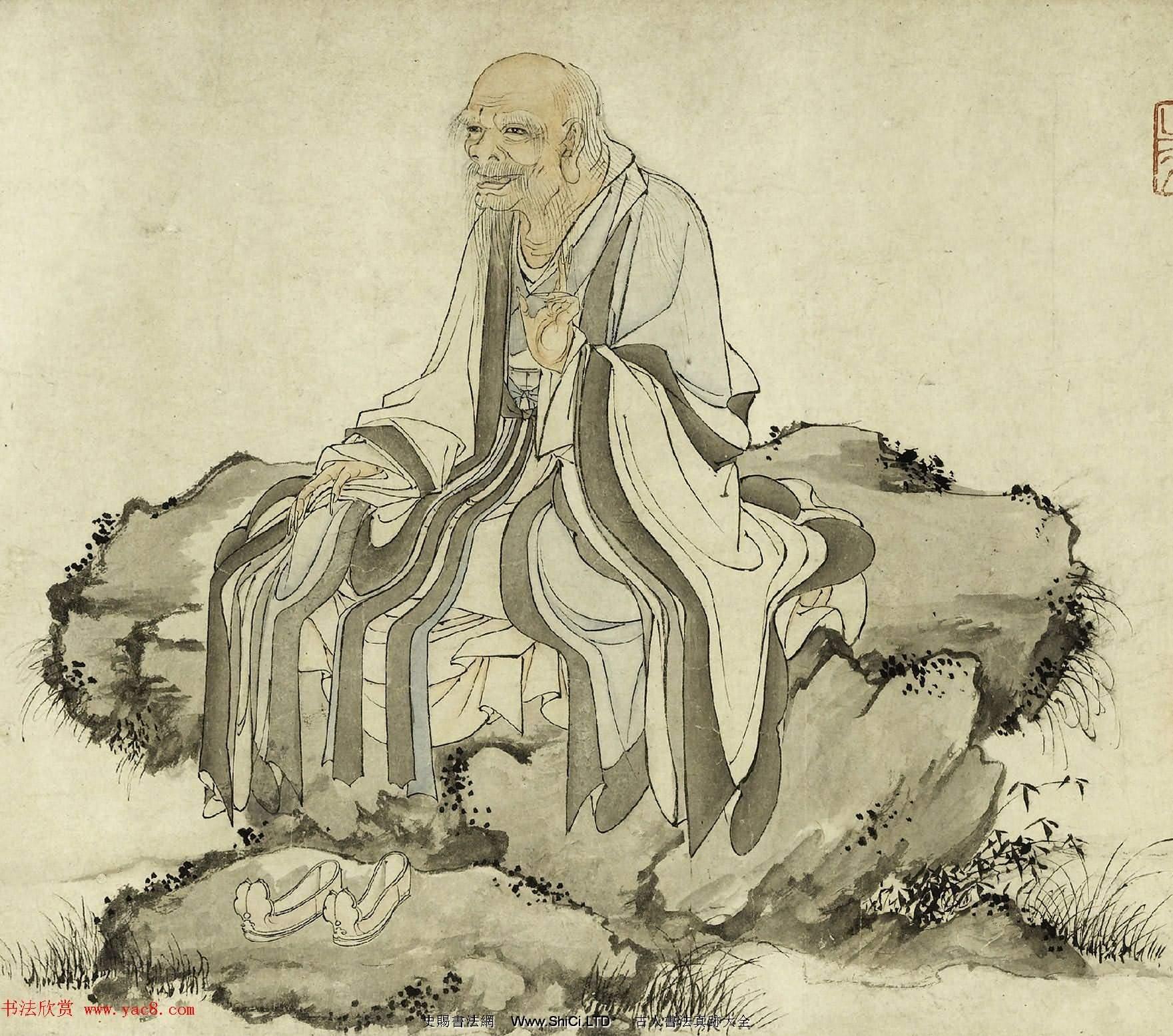 元代華祖立玄門十子圖吳炳行楷寫傳合卷(共20張圖片)