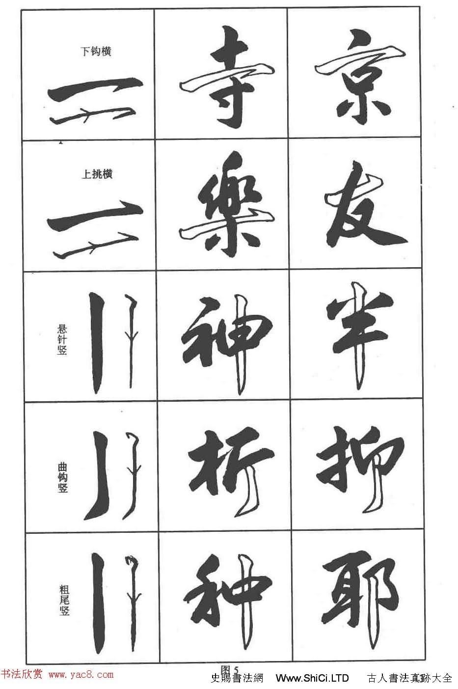 盧定山書法字帖《行書入門字譜》(共61張圖片)