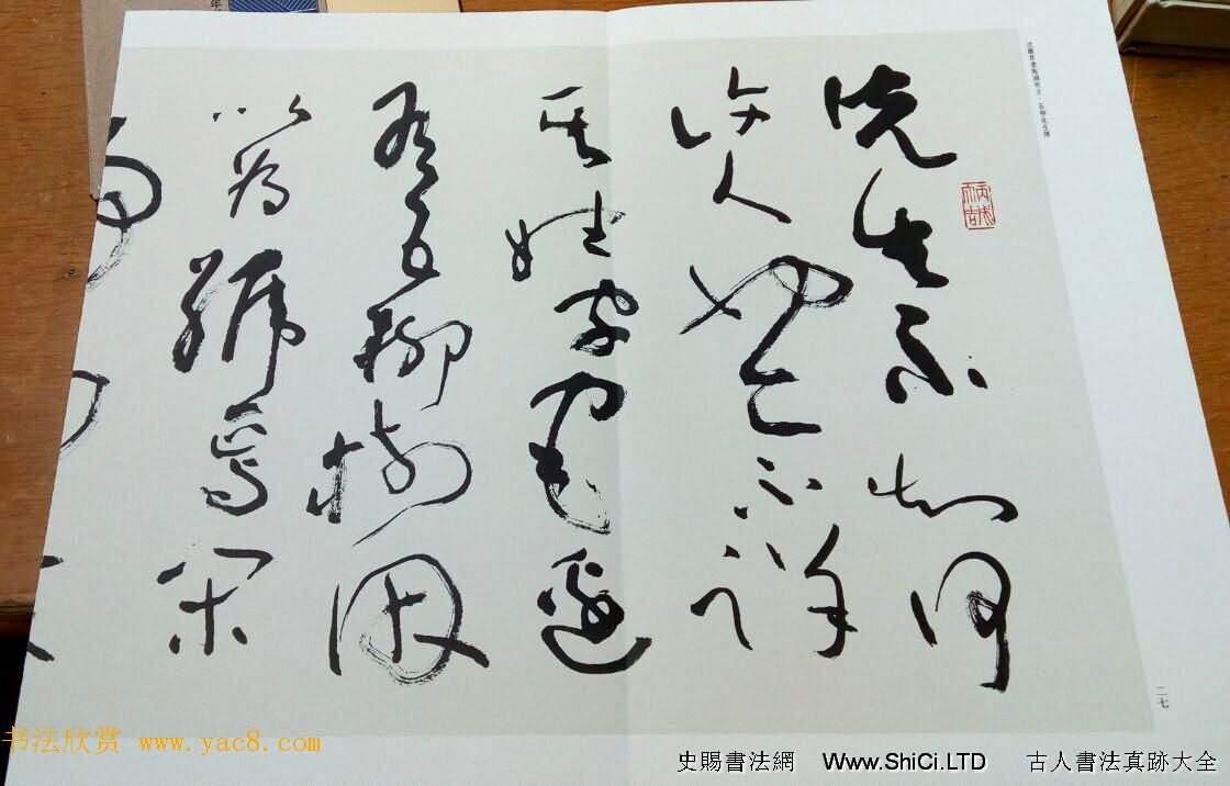 沈鵬草書真跡欣賞《五柳先生傳》(共7張圖片)