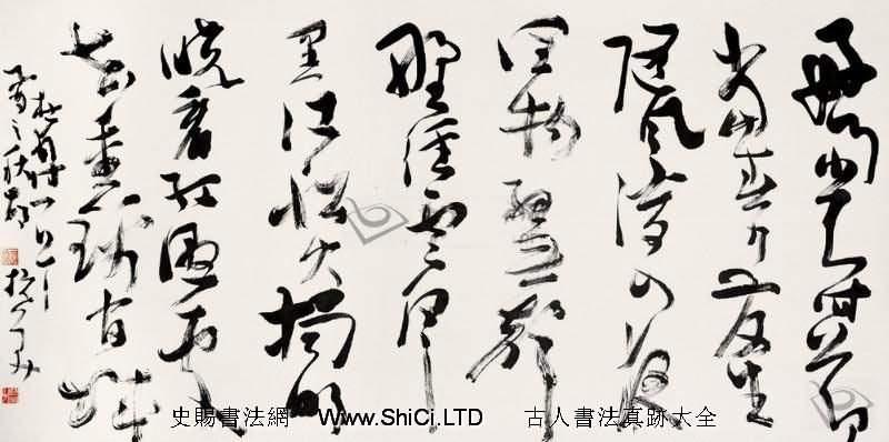 胡抗美書法作品真跡欣賞(共8張圖片)