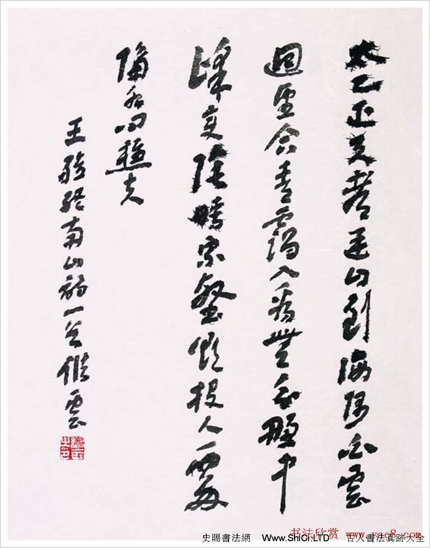 江蘇儲雲書法作品欣賞
