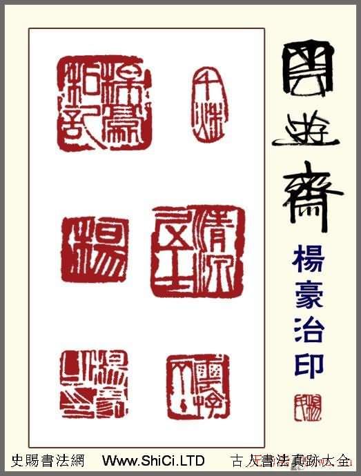 貴州楊豪篆刻作品真跡欣賞(共21張圖片)
