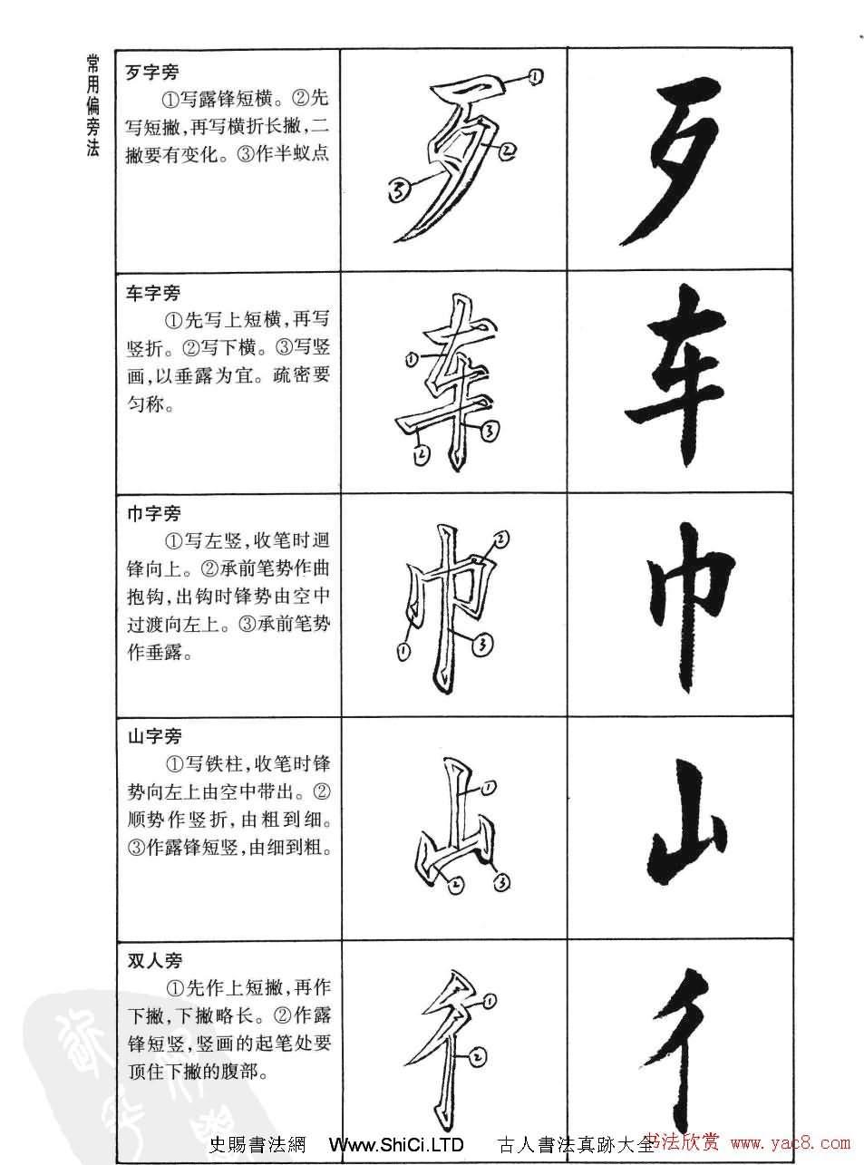 劉小晴書法字帖欣賞《簡體楷書書寫秘訣》