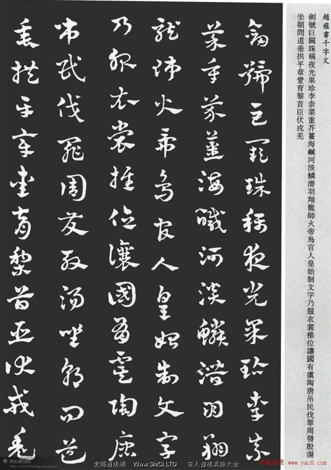 趙雍書法《章草千字文》大圖欣賞