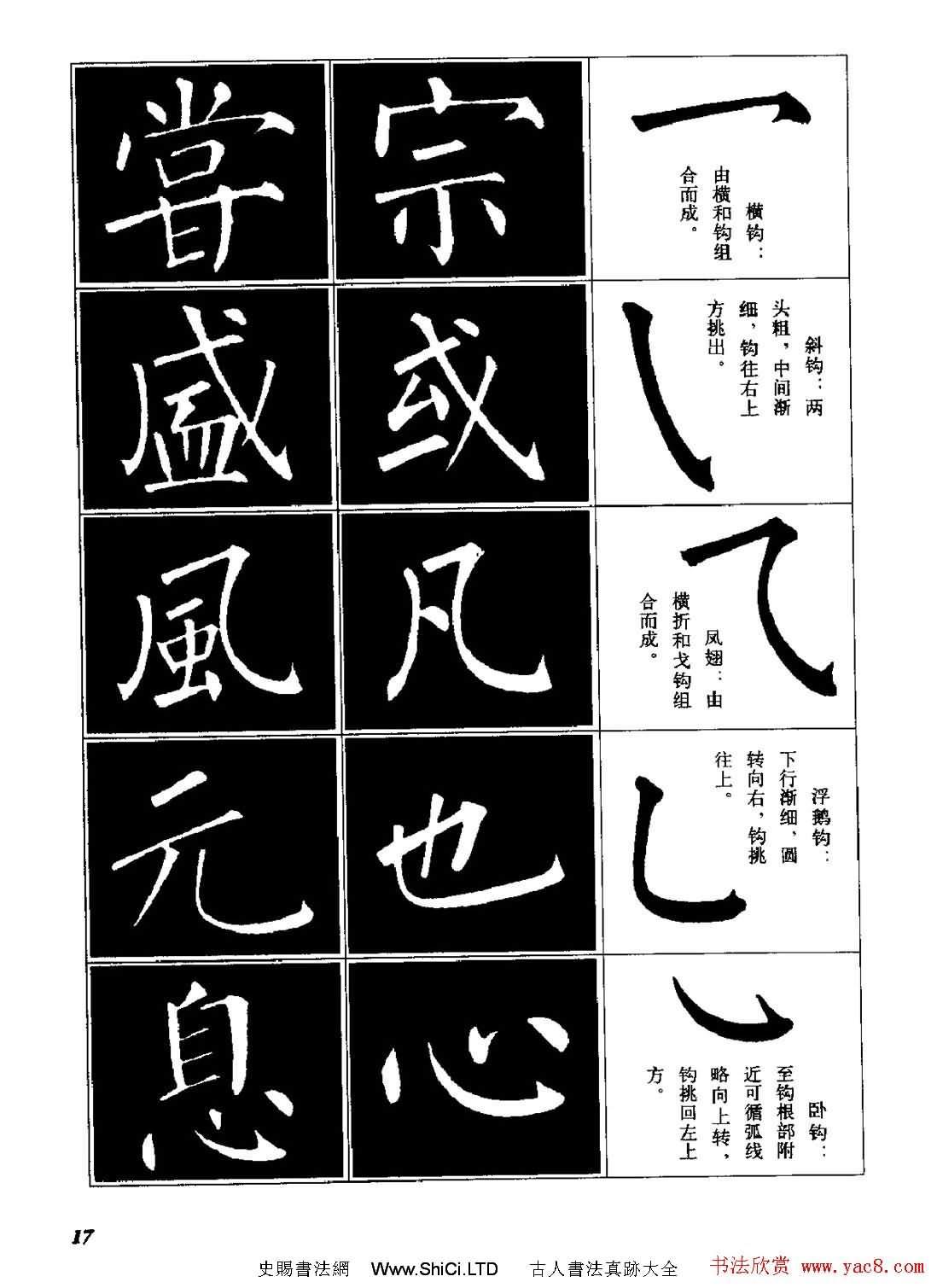 字帖《柳體楷書臨習字譜》高清大圖