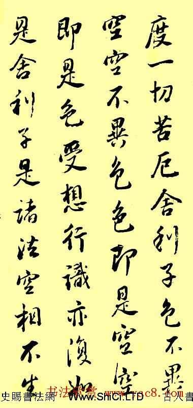 董香光書法作品欣賞《心經》