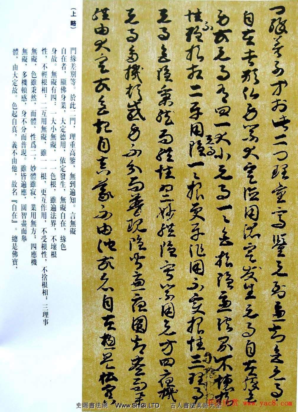 敦煌寫經章草大乘起信論略述殘卷(共2張圖片)